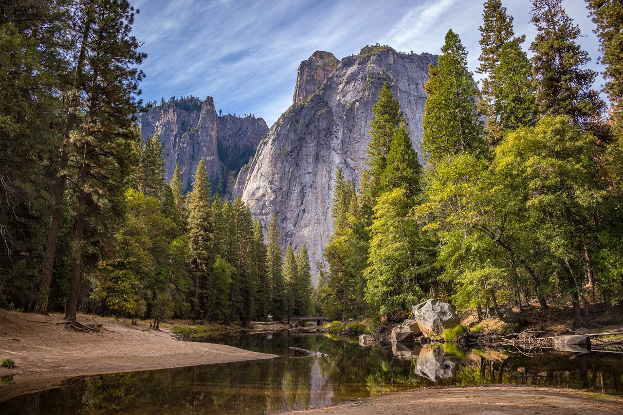 yosemite national park, a place to rest the soul